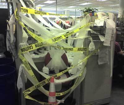 How Can You Be a Christian Coworker If Your Cubicle is A Warzone?